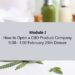 How to Open a CBD Infused Product Company